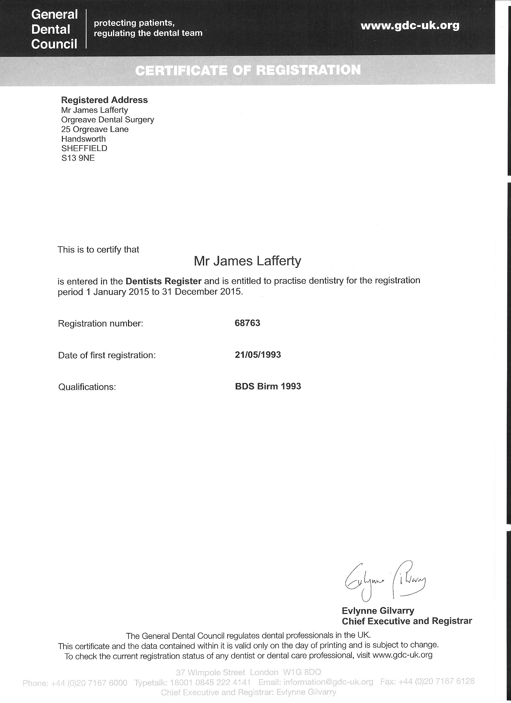 Doctors Archive - Page 2 of 2 - Orgreave Dental Surgery